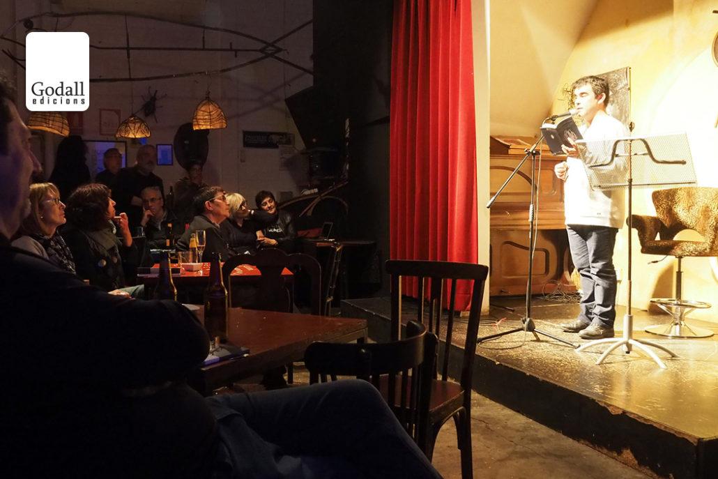 Presentació «Rufaga d'un» de Mark Strand